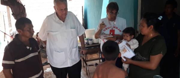 El Consulado de Colombia en Maracaibo realizó una visita a connacionales en La Gran Sabana