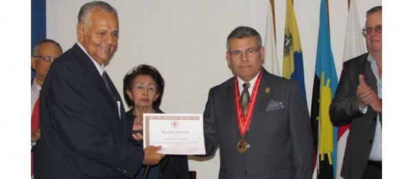 Consulado de Colombia en Maracaibo recibió un reconocimiento por parte de la Cruz Roja venezolana